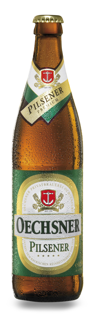 Abbildung Flasche Oechsner Premium Pilsener