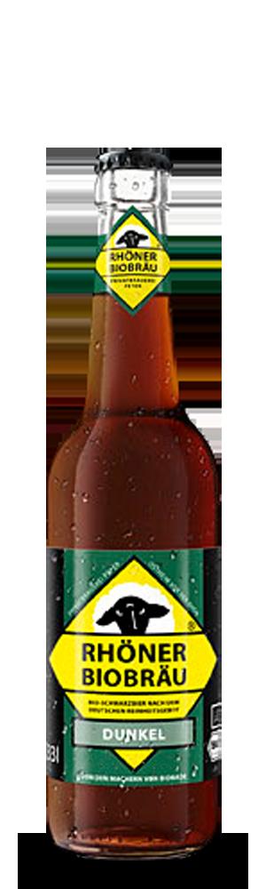 Abbildung Flasche Rhöner Biobräu Dunkel