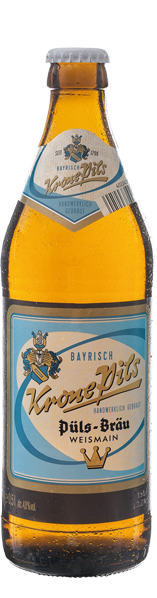 Abbildung Flasche Püls-Bräu KronePils