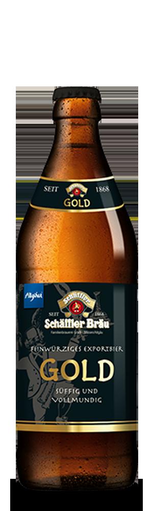 Abbildung Flasche Gold