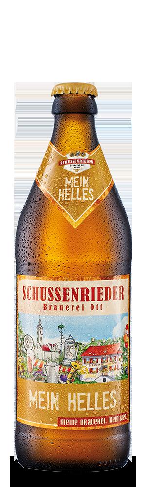 Abbildung Flasche Mein Helles