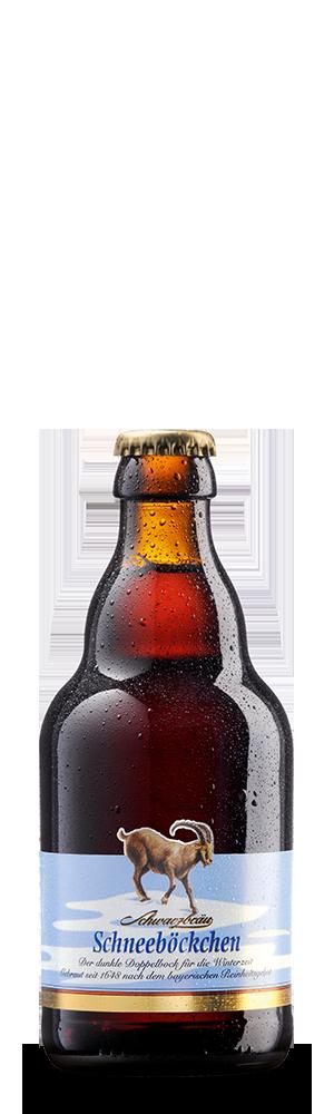 Abbildung Flasche Schneeböckchen