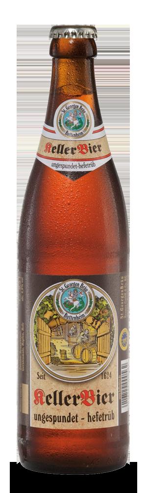 Abbildung Flasche St. Georgen Keller Bier