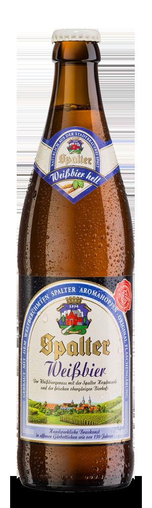 Abbildung Flasche Spalter Weissbier