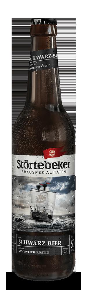 Abbildung Flasche Schwarz-Bier