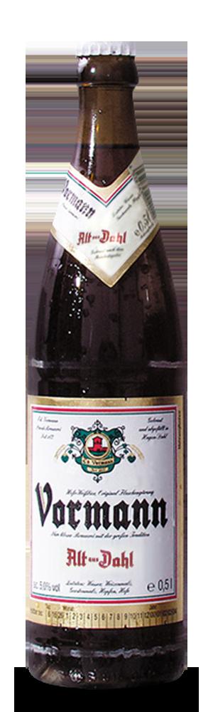 Abbildung Flasche Alt aus Dahl
