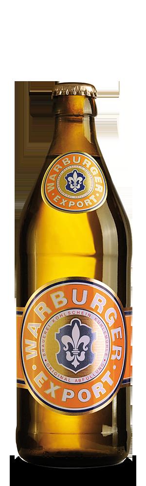 Abbildung Flasche Warburger Export
