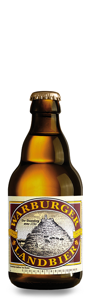 Abbildung Flasche Warburger Landbier