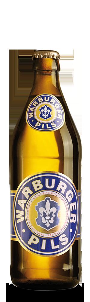 Abbildung Flasche Warburger Pils