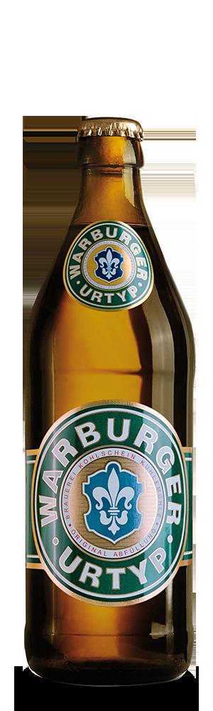 Abbildung Flasche Warburger Urtyp