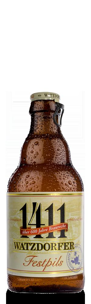 Abbildung Flasche 1411 Festpils