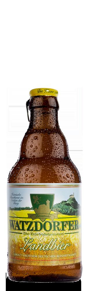 Abbildung Flasche Landbier