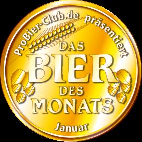 Bier des Monats Januar 2004: Alex Rolinck feines Lagerbier